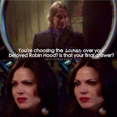 Ehhh, I wouldn't miss Emma too much, personally.  I know she'll find a way to save them both, but if it was actually a choice, they need to keep Robin Hood!  I ALWAYS lose him, and I just can't go through it again!  D: