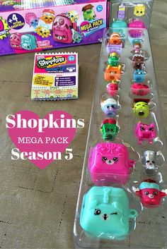 Our First Season 5 Shopkins Mega Pack!! - Best Gifts Top Toys