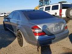 Mercedes Benz,S CLASS,[2007 TO 2014] For Auction at Copart - Salvage Cars For Sale Benz S Class, Salvage Cars, Car Photos, Cars For Sale, Mercedes Benz, Auction, Vehicles, Cars For Sell, Car