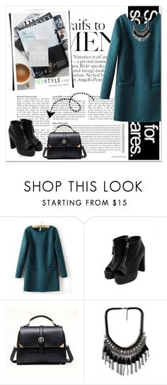 """YesStyle 3"" by emina-turic ❤ liked on Polyvore featuring JVL, midnightCOCO, BeiBaoBao, Christmas, yesstyle and winteressentials"