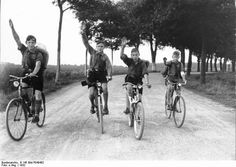 Photos of Hitler Youth Life in the 1930s