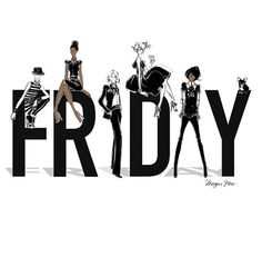 Fabulous Illustration by Megan Hess Megan Hess Illustration, Friday Illustration, Black Women Art, Black Art, Black Girls, Viernes Friday, Kerrie Hess, Illustrator, Its Friday Quotes