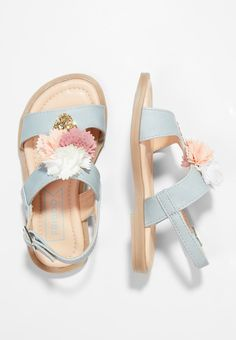 Friboo Sandals - light blue for with free delivery at Zalando Toddler Sandals, Girls Sandals, Toddler Shoes, Girls Shoes, Shoes Sandals, Huarache, Bow Shoes, Childrens Shoes, Bare Foot Sandals