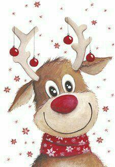 Christmas deer, Elk, Red Bell, Hand-painted Elk PNG Image and Clipart Christmas Rock, Christmas Deer, Christmas Clipart, Christmas Images, Christmas Printables, Winter Christmas, Vintage Christmas, Christmas Holidays, Happy Holidays