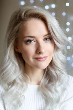 Where to Shop for Luxury Beauty Favourites - Inthefrow Silver Hair Girl, Silver Hair Dye, Silver White Hair, Lilac Hair, Pastel Hair, Blue Hair, Green Hair, Luxury Hair, Luxury Beauty