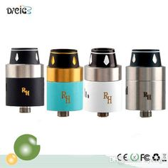 Royal Hunter RDA Atomizer Mechanical Mod Electronic Cigarette Rebuildable Dripping Tank Atomizer For Manhattan Buster Rig Mod Online with $7.1/Piece on Dyecigs's Store | DHgate.com Rda Atomizer, Electronic Cigarette, Rigs, Vape, 1 Piece, Mechanical Mod, Tableware, Manhattan, Store