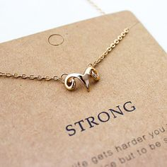 Ram Strong Necklace