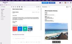Sabías que Yahoo Mail incorpora un visor de archivos adjuntos al lado de los mensajes