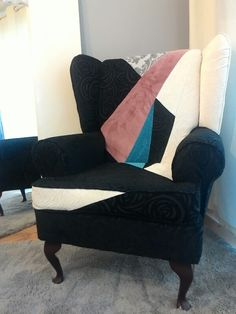 Wing back chair June 2015