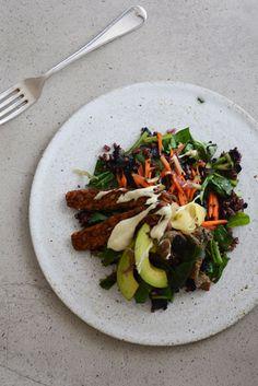 Sushi Salad Plate