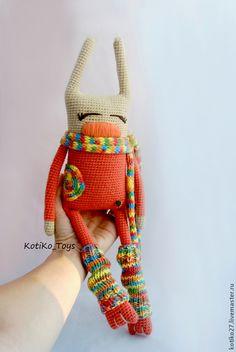 Игрушки животные, ручной работы. Ярмарка Мастеров - ручная работа Коралловый Кроль. Handmade.