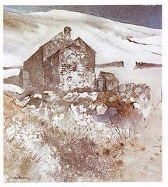 The real John Blockley Landscape Drawings, Landscape Art, Landscape Paintings, Art Drawings, Watercolor Painting Techniques, Watercolor Paintings, Watercolours, Watercolor Images, Watercolor Landscape