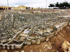 terre Saint - Israël - maquette de Jérusalem au temps de Jésus