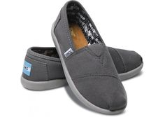 Ash Canvas Youth Classic - for every purchase TOMS will give a pair of new shoes to a child in need.