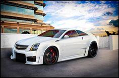 Drag Race Sport Cars Cadillac CTS V