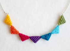 Tribal Triangle necklaces - Wool Street