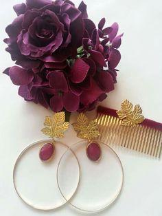 Sueño Flamenco Tribal Dress, Earring Cards, Craft Accessories, Haute Hippie, Earrings Photo, Chic Wedding, Traditional Dresses, Dance, Jewels