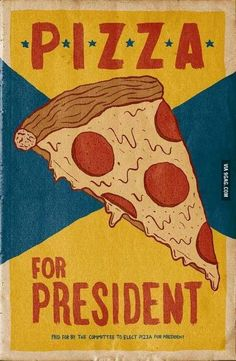 I would vote for it! is part of Pizza art 52 points Bedroom Wall Collage, Photo Wall Collage, Pizza Kunst, Poster Wall, Poster Prints, Comic Poster, Pizza Art, Pizza Food, Xl Pizza