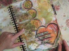 Life Notes Art Journal Flip Through...Roben Marie