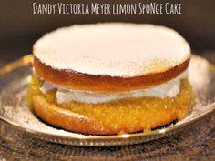 Dandy Meyer Lemon Sponge Cake. #sponge cake #lemon