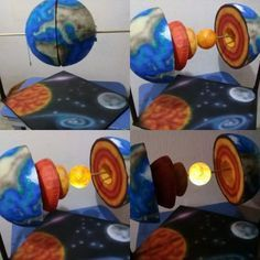 solar system projects for kids Science Experiments Kids, Science Education, Kid Science, Earth Science Projects, Science Activities For Kids, Solar System Projects, Diy And Crafts, Crafts For Kids, Sistema Solar
