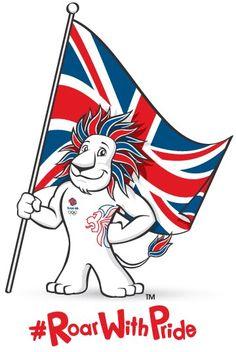 Pride, the Team GB mascott.