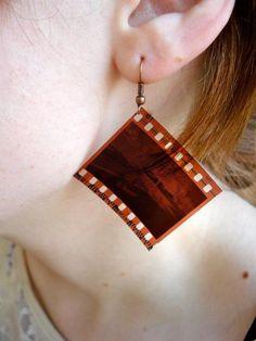 Jewelry: Film Strip Necklace or Earrings