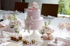 Dessert Table | The cake as featured on the dessert table st… | Flickr - Photo Sharing!