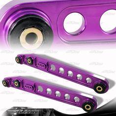 1996 2000 Honda Civic JDM Purple Aluminum Rear Suspension Lower Control Arms | eBay