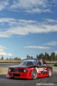 2JZ-BMW2002.  This would be a great car to take for a few laps!