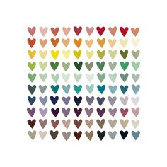 Paper Hearts by Amanda Bee for Minted