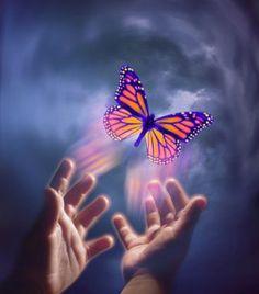 """Channeling Archangel Zadkiel about transformation - """"I am Archangel Zadkiel and I love you my butterflies"""""""