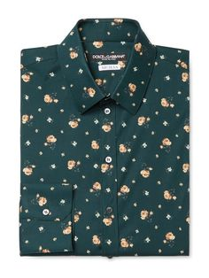 Floral Dress Shirt by Dolce