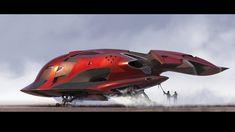 ArtStation - Space Ship Rendo from BLAST, Scott Robertson