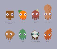 Cadbury - Characters - Le Bureau des Monstres