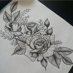 org wood tattoo tattoo more 1 182 jack paige tattoo ideas Girly Tattoos, Rose Tattoos, Flower Tattoos, New Tattoos, Tatoos, 4 Tattoo, Piercing Tattoo, Piercings, Tattoo Sketches