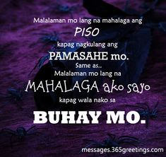 Sad Tagalog Love Quotes Holiday Messages, Greetings and Wishes Cute Love Quotes, Love Story Quotes, Love Quotes For Her, Sad Quotes, Words Quotes, Filipino Quotes, Pinoy Quotes, Tagalog Love Quotes, Tagalog Quotes Patama