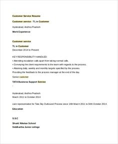 How To Prepare A Resume Free Sample Sales Resume Template  Write Your Resume Much Easier