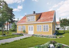 Sørlandshus Skipperhus Generasjonsbolig gjestebolig 2 boenheter