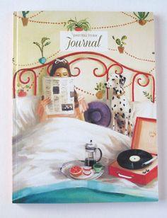 Détails :  6  x 8  parfait lié journal vierge de lin texturé couverture. Parfait pour écrire et dessiner!  50 pages  Image sur la couverture est une reproduction de ma peinture à l'huile «Plantes d'intérieur».