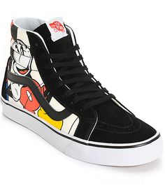 Disney x Vans Sk8-Hi Mickey & Friends Skate Shoes