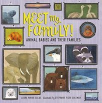 Publishers Weekly: Meet My Family! Animal Babies and Their Families