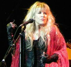 Stevie...just saw her (F Mac) in Las Vegas on Dec 30 and she was stunning...their music was as good as ever!