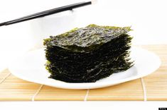 """Seaweed -"""" A low-calorie food for when your craving something salty and crunchy, It's packed with vitamin C, vitamin D, calcium and iodine, which helps to regulate and maintain the health of the thyroid."""