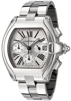Cartier Men's Roadster Automatic Chronograph Stainless Steel