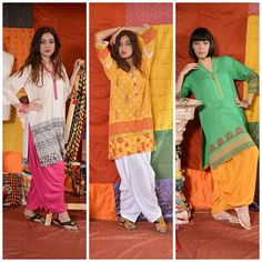 FnkAsia's latest Eid collection, titled COLOR ME HAPPY is now in stores! This Summer organic Eid collection is all what the spirit of #FnkAisa is about. #EidCollection #Fashion #DesiFashion #HumaAdnan