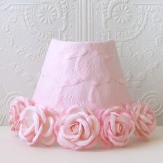 Pink Rose Petal Night Light