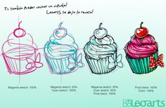 The Astonishing Cupcake Tattoo Designs Picture