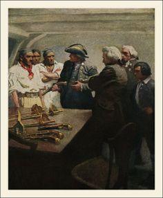 N.C. Wyeth - Treasure Island illustrations