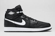 "Air Jordan 1 High Strap ""Black, White & Dark Grey"""